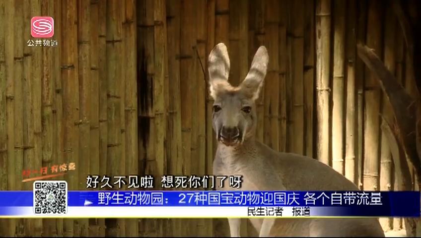 野生動物園:27種國寶動物迎國慶 各個自帶流量