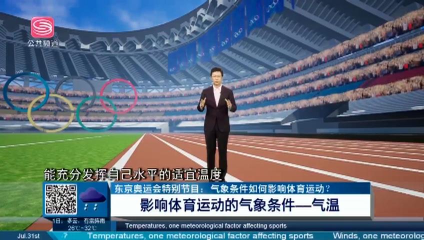 谈天说地:东京奥运会特别节目:气象条件如何影响体育运动?