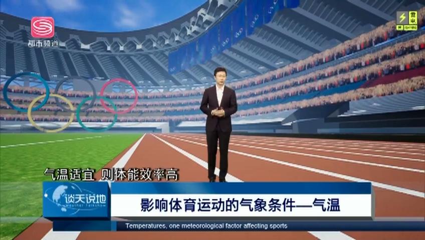 谈天说地:影响体育运动的气温条件——气温