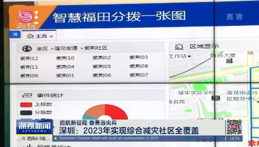 【启航新征程 奋勇当尖兵】深圳:2023年实现综合减灾社区全覆盖